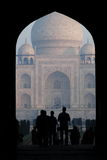 ENTRY TO TAJ Royalty Free Stock Photos