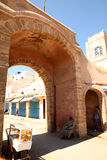 Entry To The Medina In Essaouira Royalty Free Stock Images
