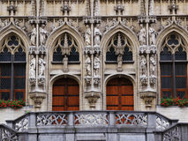 Entry To Townhall in Leuven Royalty Free Stock Image