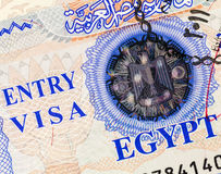 Entry Visa Royalty Free Stock Images