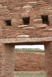 Entry way, Abo Pueblo ruins, New Mexico Stock Image