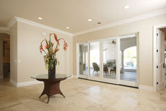 Free Entry Way In A Luxury Home Royalty Free Stock Photo - 8193675