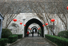 The entry at Zhonghua Gate, Nanjing Stock Photography