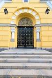 Entryway łuk Piękny Stary budynek w Kijów, Ukraina Obrazy Stock