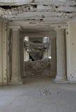 Entryway в дворце Darul Амана, Афганистане стоковое фото
