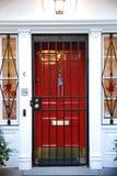 Entryway украшенный на Halloween стоковые фото