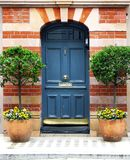 Entryway door Royalty Free Stock Images