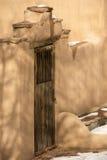 Entryway i Santa Fe Arkivbild