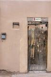 Entryway i Santa Fe Royaltyfri Foto