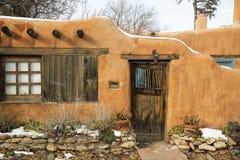 Entryway i Santa Fe Arkivfoto