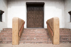 Entryway in Santa Fe. An entryway in Santa Fe, New Mexico Royalty Free Stock Images