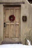Entryway in Santa Fe Stock Photo