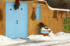 Entryway in Santa Fe. An entryway in Santa Fe, New Mexico Royalty Free Stock Photography