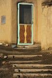 Entryway at The Taos Pueblo Stock Photo