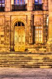 Entryway to a building in old downtown. San Luis potosi royalty free stock images