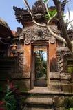 Entryway van de tempel royalty-vrije stock fotografie
