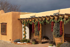Entryway w Santa Fe Zdjęcie Royalty Free