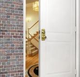 entrywayframdel Royaltyfri Bild