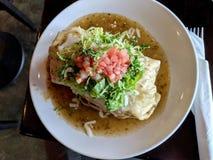 Entscheidender Cali Burrito lizenzfreies stockbild