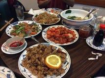 Entscheidendes chinesisches Lebensmittel, zum Ihrer Tastebuds zu quälen Lizenzfreie Stockfotografie