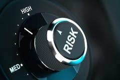 Entscheidungsprozess, Risikomanagement Stockfotografie