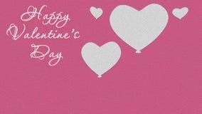Entschließung des Valentinstaghintergrundes illustration Tag der Liebe Lizenzfreies Stockbild