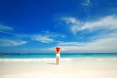 Entspannen auf dem Strand Lizenzfreie Stockfotos