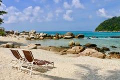 Entspannen auf dem Strand Lizenzfreie Stockfotografie