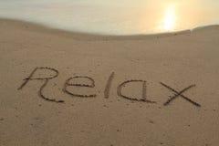 Entspannen Sie sich Stockfotos