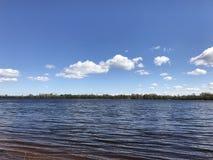 Entspannen Sie sich auf dem Fluss Stockfoto