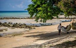 Entspannen Sie sich auf dem Strand Lizenzfreie Stockbilder
