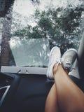 Entspannen Sie sich auf der Reise stockfotos