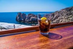 Entspannen Sie sich in Capri Stockbild