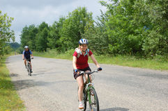 Entspannen Sie sich das Radfahren Lizenzfreie Stockfotos