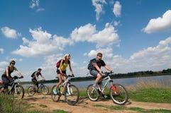 Entspannen Sie sich das Radfahren Lizenzfreie Stockbilder