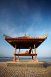 Entspannen Sie sich an der Küste Lizenzfreie Stockbilder