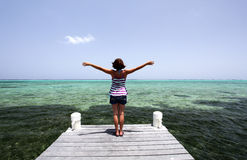 Entspannen Sie sich Feiertagszeit Lizenzfreie Stockbilder