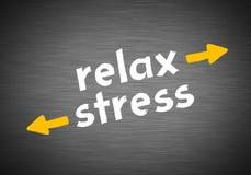 Entspannen Sie sich gegen Druck Lizenzfreies Stockfoto