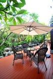 Entspannen Sie sich im Garten Lizenzfreie Stockbilder