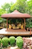 Entspannen Sie sich im Garten Stockfotografie