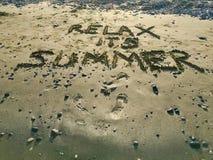 Entspannen Sie sich seinen Sommer Lizenzfreies Stockfoto