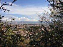Entspannen Sie sich Tag in den Bergen Stockfotos