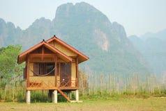 Entspannen Sie sich in Vangvieng (Laos) Stockbilder