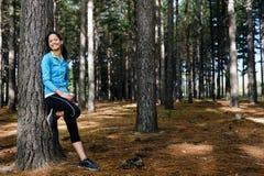 Entspannende Eignungfrau Stockfoto