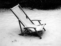 Entspannende Kälte Stockbild