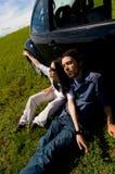 Entspannende Paare 1 lizenzfreie stockfotografie