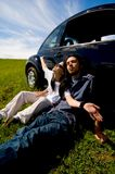 Entspannende Paare Lizenzfreies Stockbild