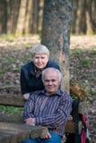 Entspannende Paare Lizenzfreie Stockbilder