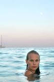 entspannende Sommerferien Lizenzfreies Stockfoto