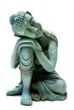 Entspannender Buddha Stockfoto